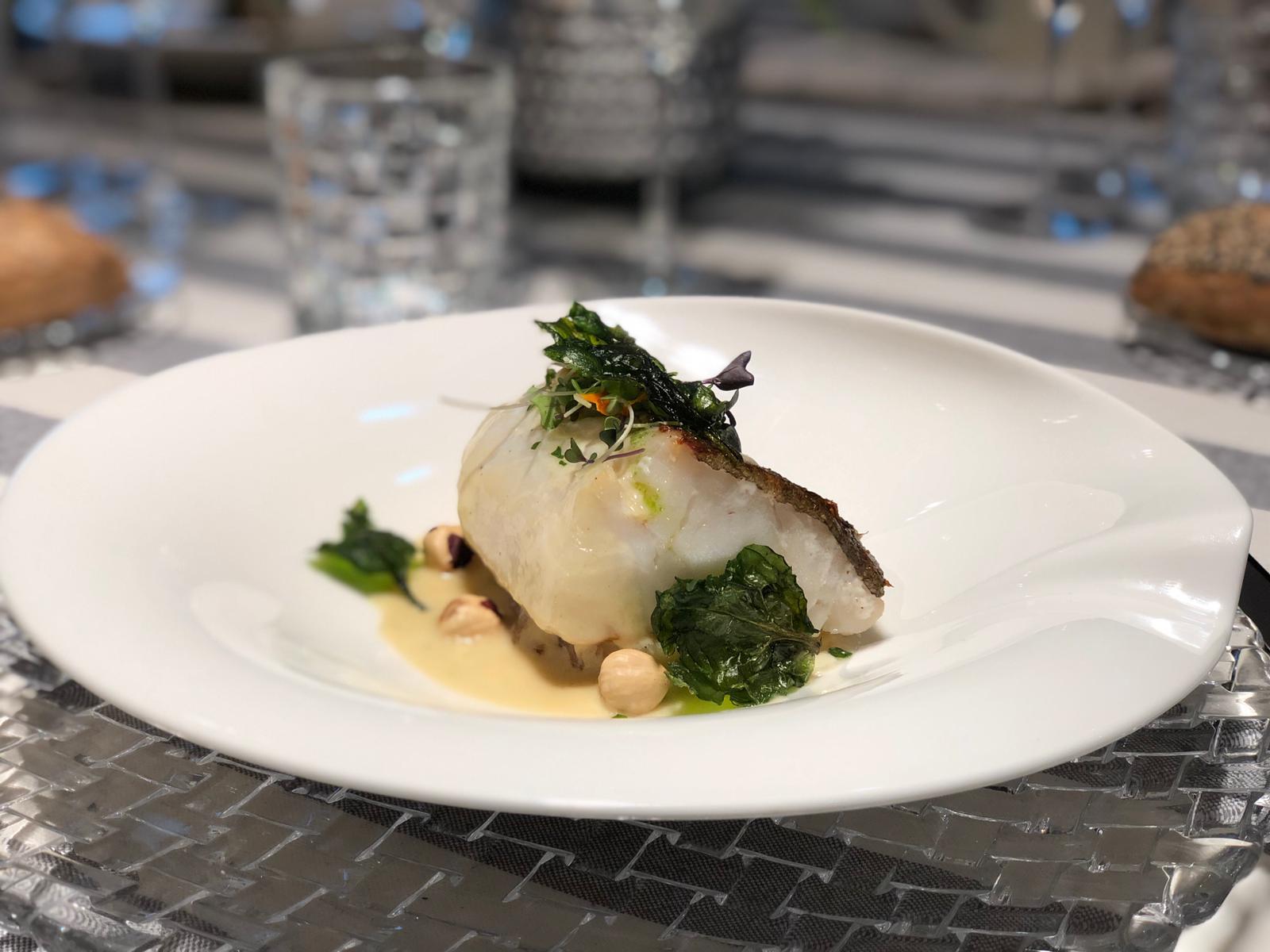 Pescado del Cantábrico, restaurante Gijón, Amares Gastronomía